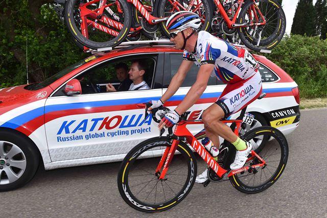Сергей Лагутин – 10-й на самом длинном этапе Джиро д'Италия-2015