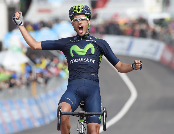 Беньят Инчаусти: победа на этапе и майка горного короля Джиро д'Италия-2015