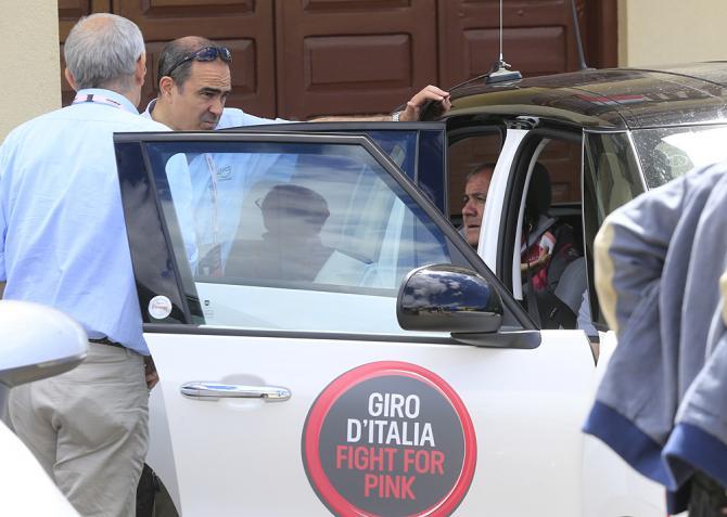 Мауро Веньи: «Как директор Джиро д'Италия, я очень сожалею»