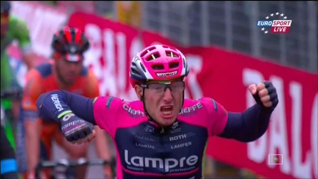 Саша Модоло – победитель 13 этапа Джиро д'Италия-2015