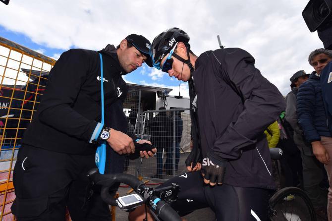 Ричи Порт (Sky) покидает Джиро д'Италию-2015