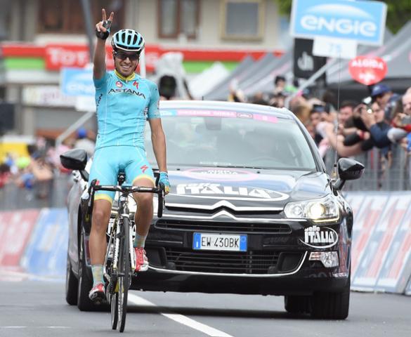 Микель Ланда – победитель 16 этапа Джиро д'Италия-2015