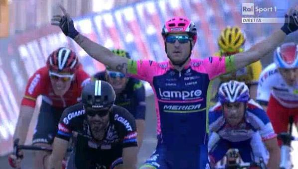 Саша Модоло – победитель 17 этапа Джиро д'Италия-2015