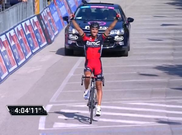 Филипп Жильбер – победитель 18 этапа Джиро д'Италия-2015