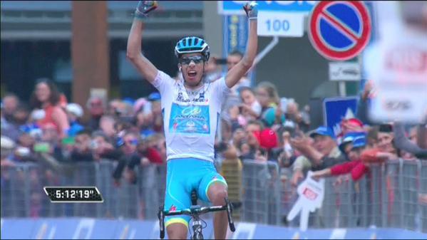 Фабио Ару – победитель 20 этапа Джиро д'Италия-2015