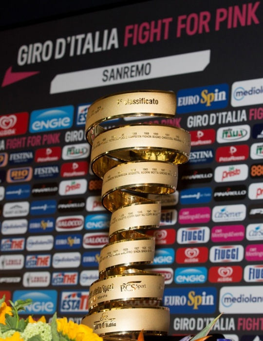 Пресс-конференция Андре Грайпеля и Юргена Ван ден Брука перед стартом на Джиро д'Италия-2015