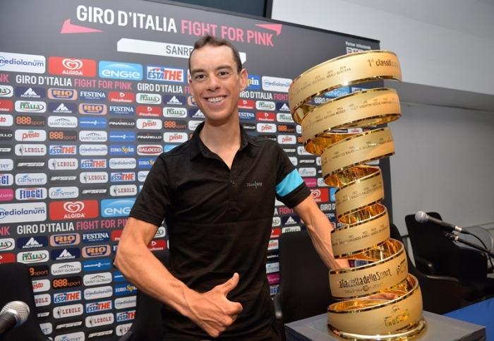 Пресс-конференция Ричи Порта перед стартом на Джиро д'Италия-2015