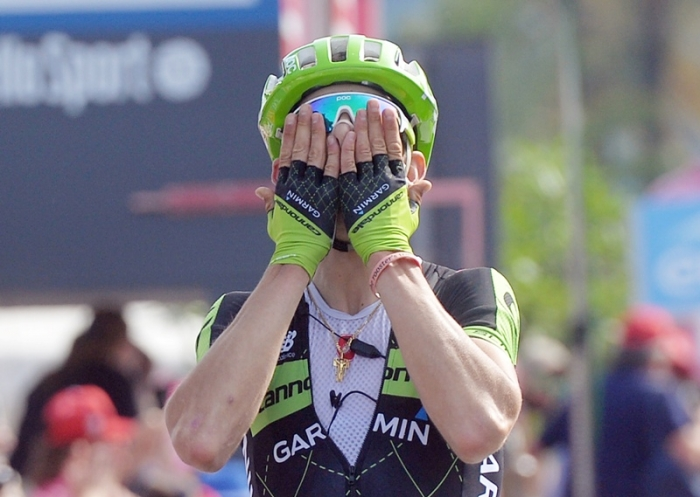 Победа Давиде Формоло (Cannondale-Garmin) на 4 этапе Джиро д'Италия-2015