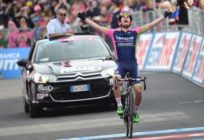 Ян Поланц: победа на этапе Джиро д'Италия и майка горного короля