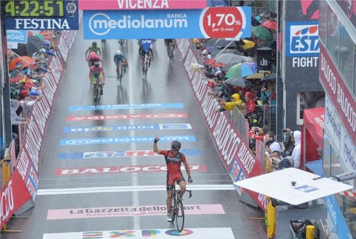 Филипп Жильбер: «Я знал каждую деталь последних 70 км 12 этапа Джиро д'Италия-2015»