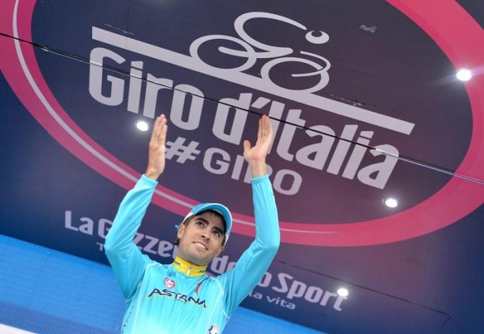 Микель Ланда - покоритель Мадонна-ди-Кампильо на Джиро д'Италия-2015