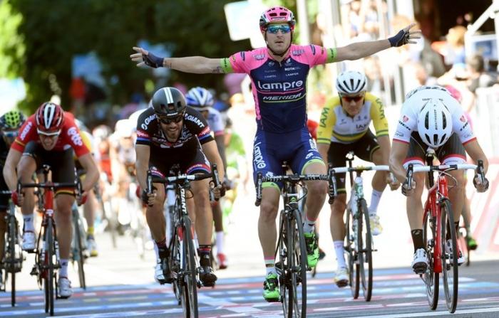 Дубль Саши Модоло на этапах Джиро д'Италия-2015