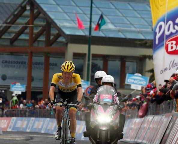 Стевен Крёйсвейк: «Моей задачей было финишировать в топ-10 Джиро д'Италия-2015»