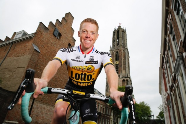 Новый дизайн майки команды LottoNL-Jumbo для Тур де Франс-2015