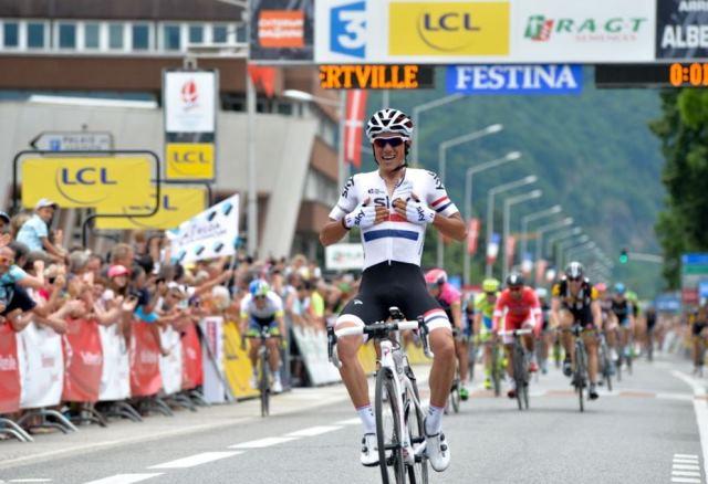 Питер Кеннах - победитель 1 этапа Критериума Дофине-2015
