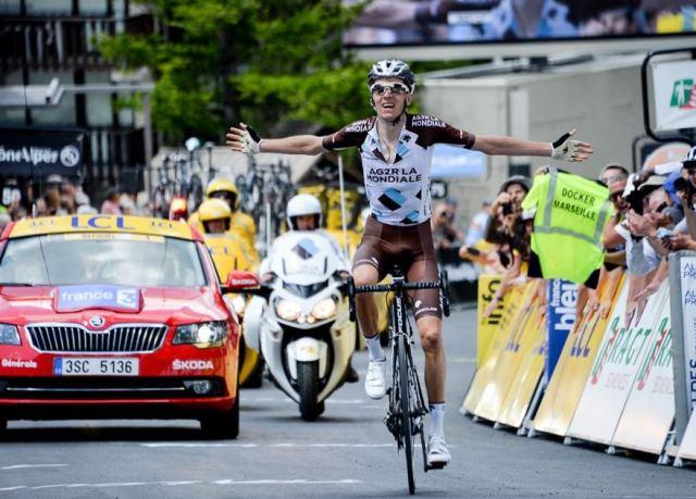 Роман Барде - победитель 5 этапа Критериума Дофине-2015