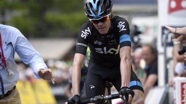 Крис Фрум о 5-м этапе Критериума Дофине-2015