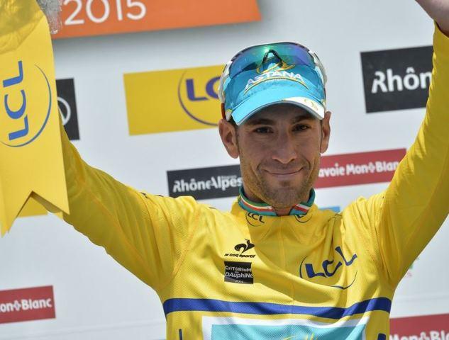 Винченцо Нибали - новый лидер общего зачёта Критериума Дофине-2015