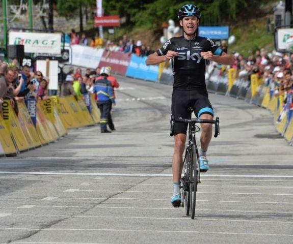 Крис Фрум - победитель Критериума Дофине-2015