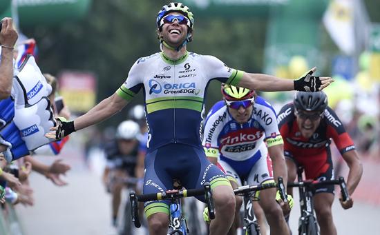Майкл Мэттьюс - победитель 4 этапа Тура Швейцарии-2015