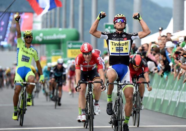 Петер Саган выигрывает 6-й этап «Тура Швейцарии-2015»