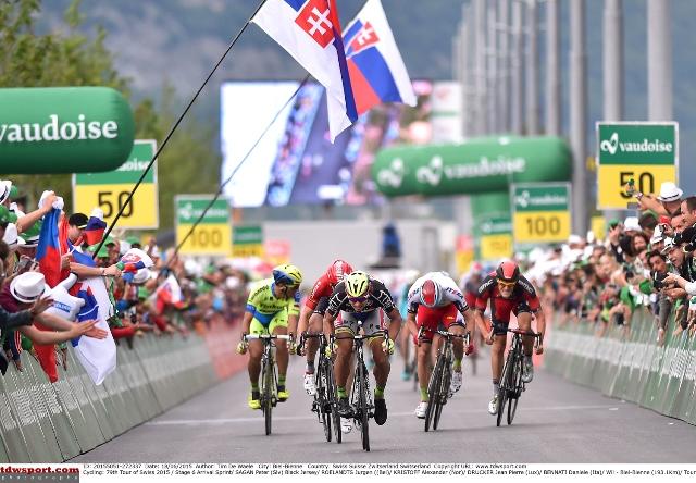 "Александр Кристофф - 3-й на шестом этапе ""Тура Швейцарии"""