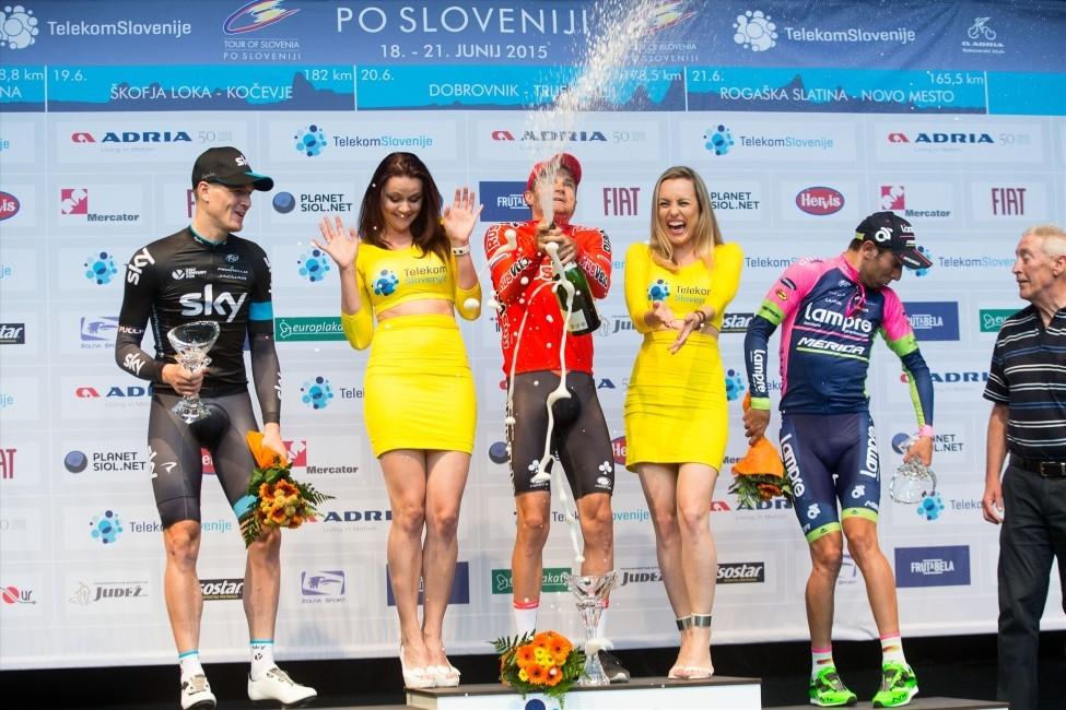 Артем Овечкин – победитель пролога и лидер Тура Словении.