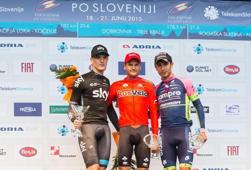 Артем Овечкин – победитель пролога и лидер Тура Словении
