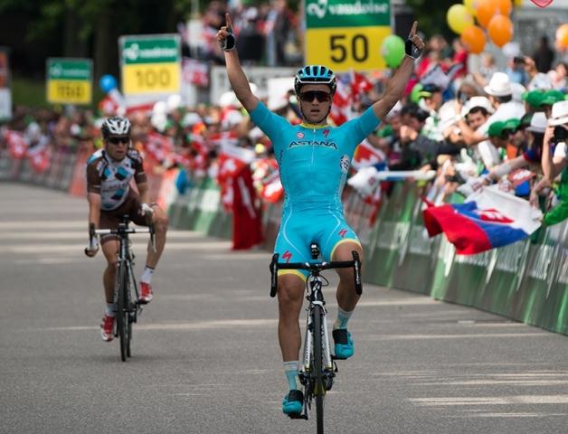 Алексей Луценко: «Это точно самая важная победа на шоссе в моей карьере»