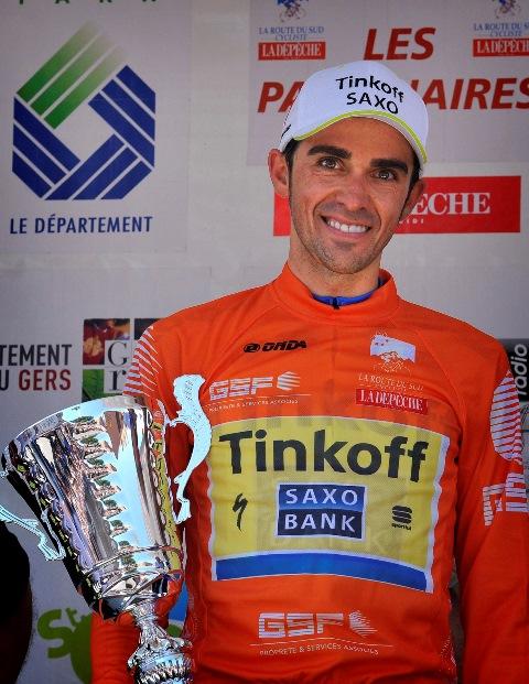 Альберто Контадор - победитель Route du Sud-2015