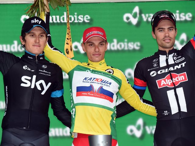 Герант Томас уступил 5 секунд Симону Шпилаку на Туре Швейцарии-2015