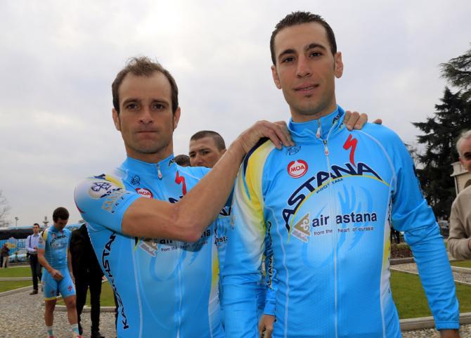 Микеле Скарпони будет помогать Винченцо Нибали защитить титул победителя Тур де Франс