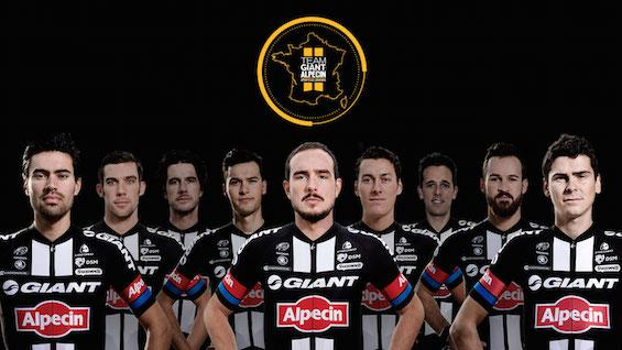 Состав команды Giant-Alpecin на Тур де Франс-2015
