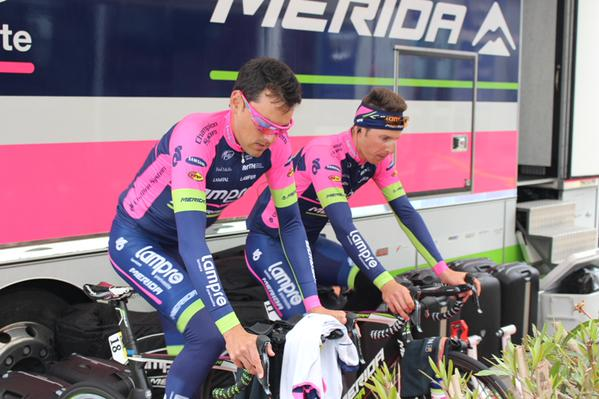 Состав команды Lampre-Merida на Тур де Франс-2015