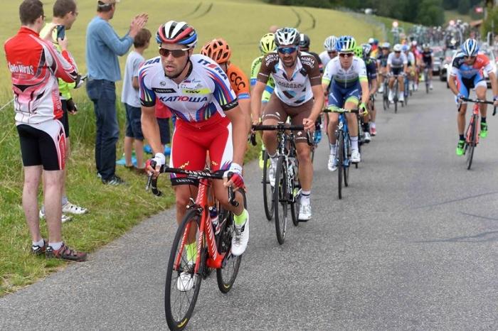 "Марко Халлер - 4-й на восьмом этапе ""Тура Швейцарии"""