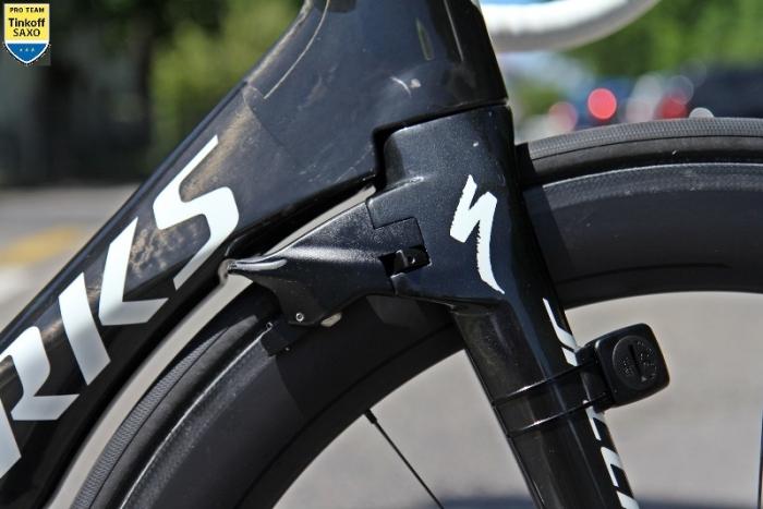 Новый велосипед Specialized S-Works Venge ViAS - Tinkoff-Saxo для Петера Сагана на Тур де Франс-2015