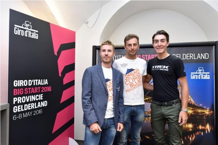 Джиро д'Италия - 2016 стартует в Апелдорне (Нидерланды)