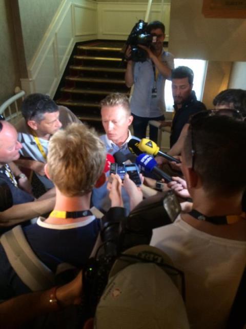 Александр Винокуров: «Ларс Боом стартует на Тур де Франс-2015»