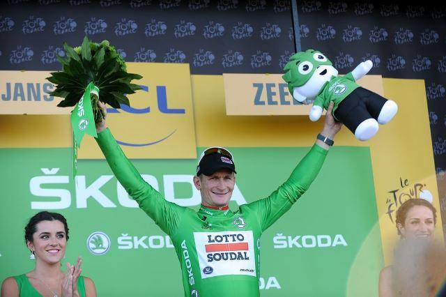 Андре Грайпель: «Я впервые в жизни поеду в зелёной майке Тур де Франс»