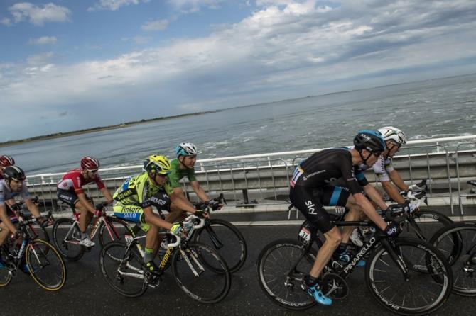 Альберто Контадор, Крис Фрум и Тиджей Ван Гардерен о 2 этапе Тур де Франс-2015