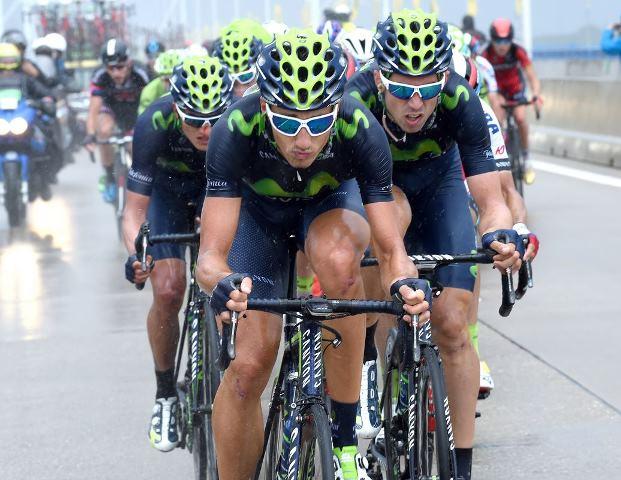 Наиро Кинтана, Алехандро Вальверде и Эусебио Унсуэ о 2 этапе Тур де Франс-2015