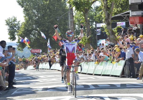Хоаким Родригес - победитель 3 этапа Тур де Франс-2015