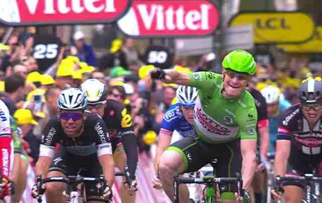 Андре Грайпель – победитель 5 этапа Тур де Франс-2015