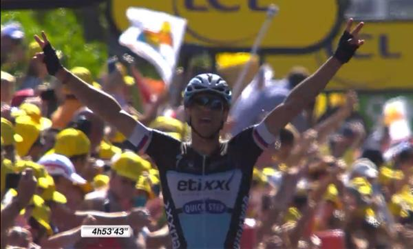 Зденек Штыбар - победитель 6 этапа Тур де Франс-2015