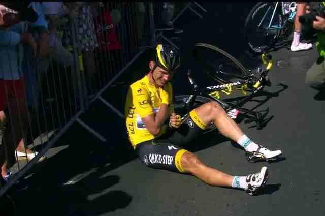Тони Мартин сходит с Тур де Франс-2015 с перелом ключицы