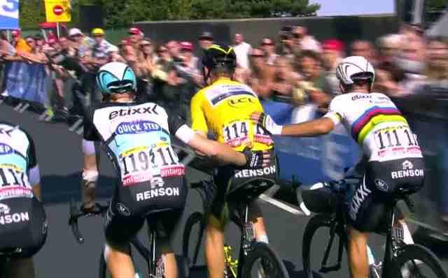 Тони Мартин сходит с Тур де Франс-2015 с переломом ключицы