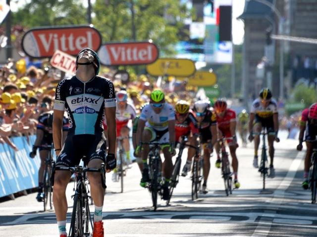Первая победа Зденека Штыбара на этапе Тур де Франс