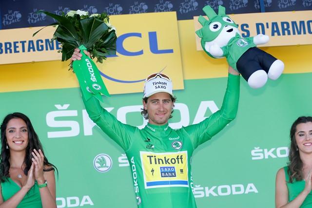 Петер Саган – лучший спринтер «Тур де Франс»