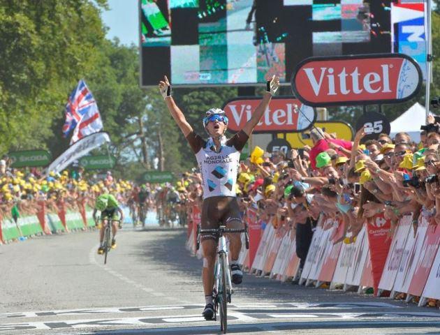 Алексис Вийермоз первым из французов побеждает на этапе Тур де Франс-2015