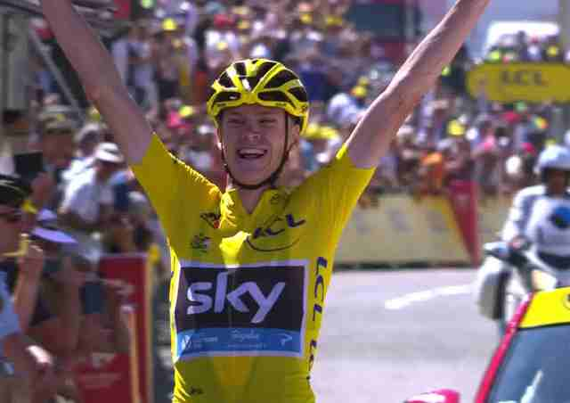Крис Фрум – победитель 10-го этапа Тур де Франс-2015